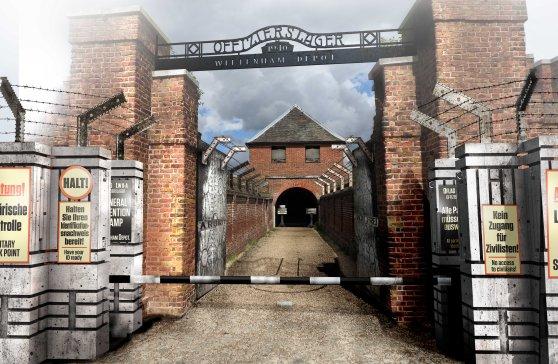 Wittenham depot gate